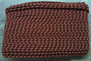"1/4"" Burgundy, Tan & Beige Decorative Cording - 5 Yards"