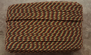 "1/4"" Burgundy, Taupe, Tan & Forest Green Decorative Cording - 5 Yards"