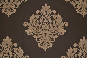 Discount Fabric JACQUARD Light Taupe Embroidered Upholstery & Drapery