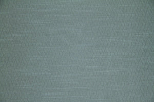 Discount Fabric JACQUARD Teal Green & Gray Tweed Upholstery & Drapery
