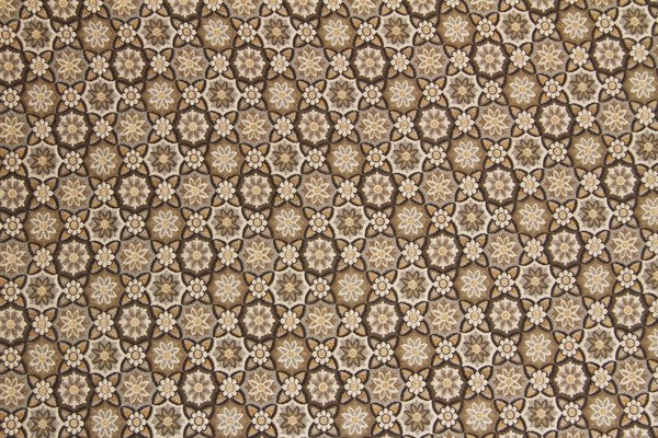Discount Fabric TAPESTRY Brown, Beige & Taupe Floral Upholstery