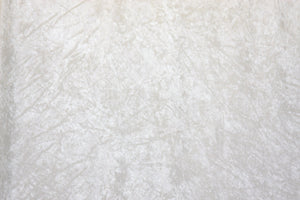 White Crushed Velour-WHOLESALE FABRIC-15 Yard Bolt
