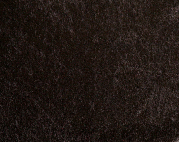 Black Crushed Velour Fabric