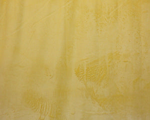Yellow Minky Solid Fabric