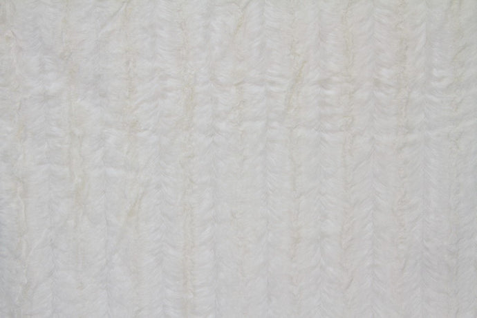 Faux Fur White MINK Fabric