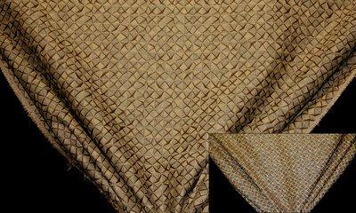 Discount Fabric JACQUARD Brown Rice Drapery & Upholstery