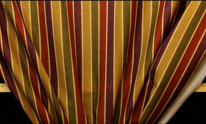 Discount Fabric DRAPERY Jewel Stripe