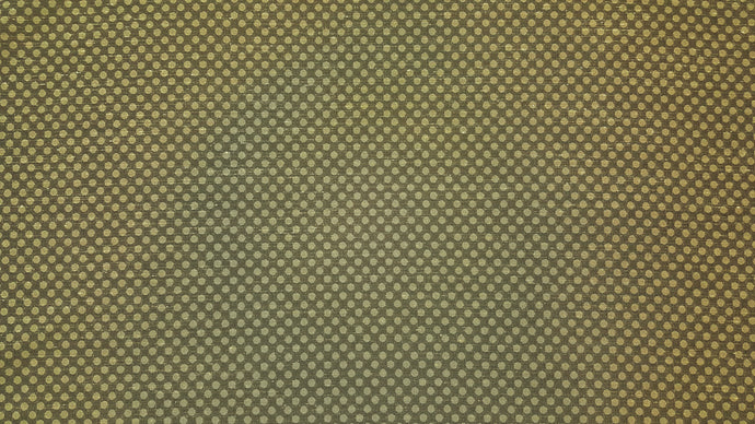 Discount Fabric DRAPERY Olive Yellow Dot