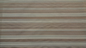 Discount Fabric DRAPERY Gray, Tan & Brown Striped