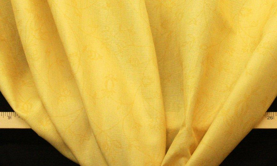 Discount Fabric DRAPERY Buttercup