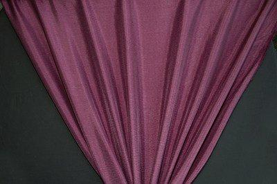 Discount Fabric DRAPERY Burgundy Crinkled Satin