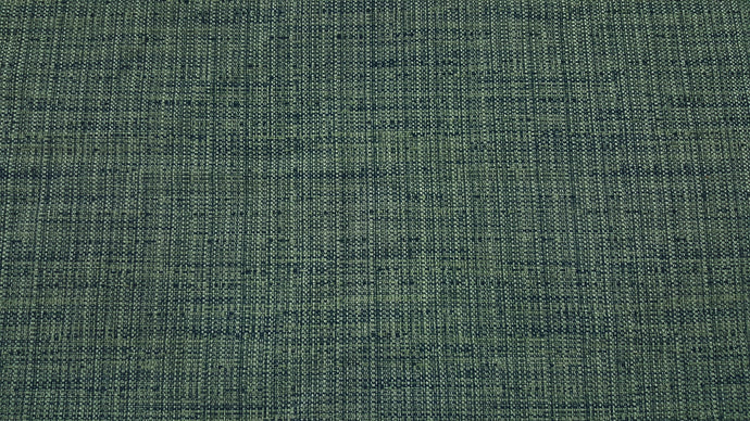 Discount Fabric DRAPERY Green & Navy Summer Tweed