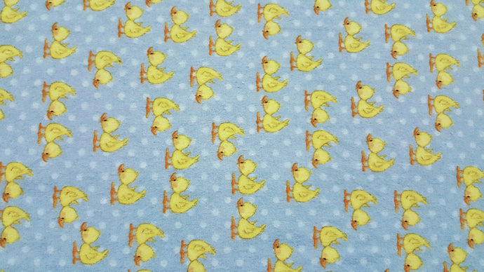 Baby Duck Double Napped Flannel