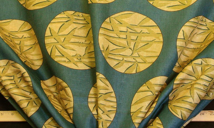 Discount Fabric DRAPERY OR BEDSPREAD Bamboo Print