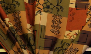 Discount Fabric DRAPERY OR BEDSPREAD Autumn Burst