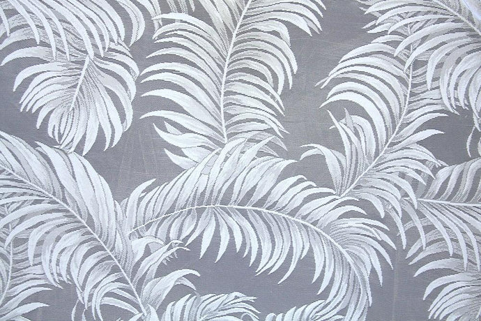 Discount Fabric LACE White Fern Curtain & Tablecloth