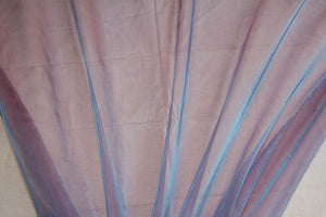 Lavender Blue Organza - WHOLESALE FABRIC - 54 Yard Bolt