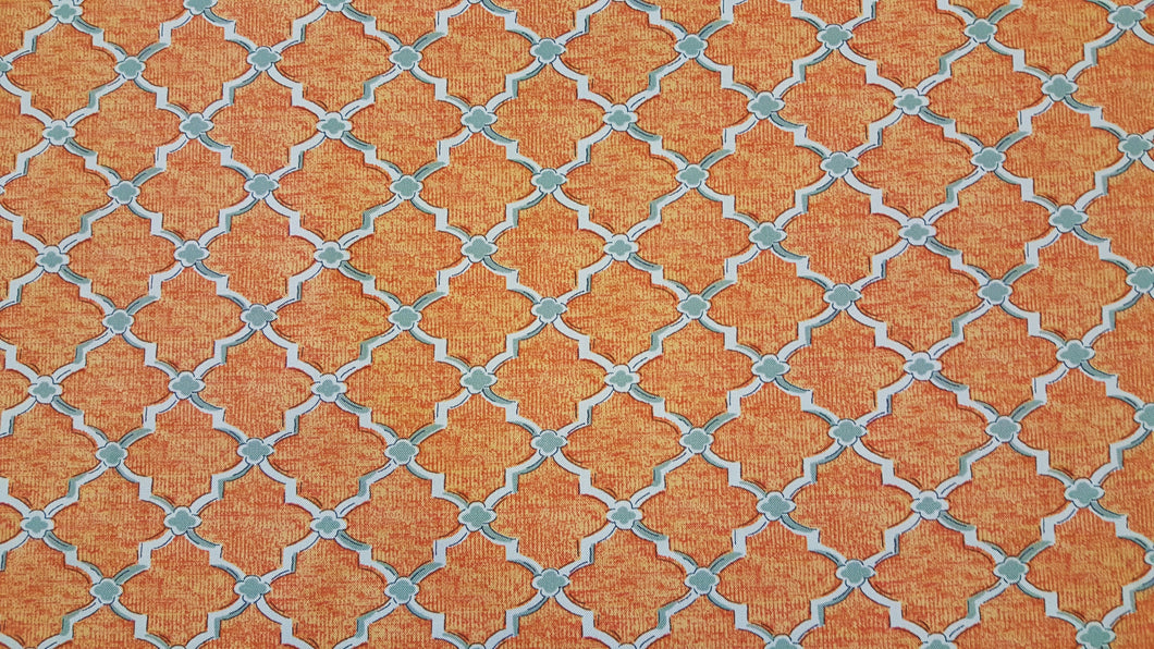 Swavelle Mill Creek Orange Grove Indoor/Outdoor Fabric - 10 Yards