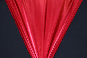 "90"" Wide Red Broadcloth--WHOLESALE FABRIC--25 Yard Bolt"
