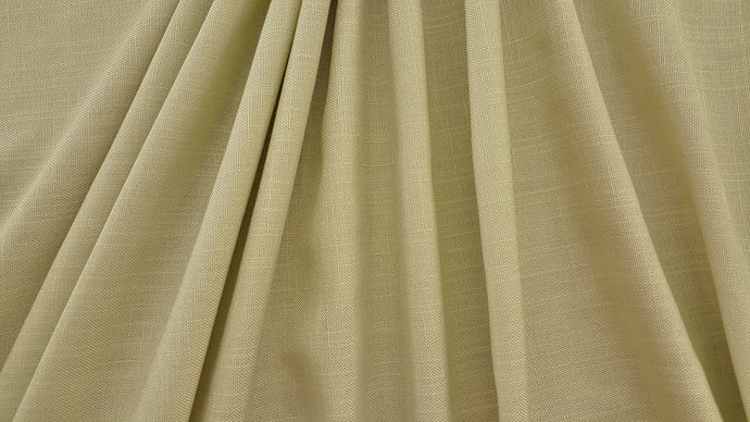 Discount Fabric SEMI-SHEER Light Sage Green Basketweave Drapery
