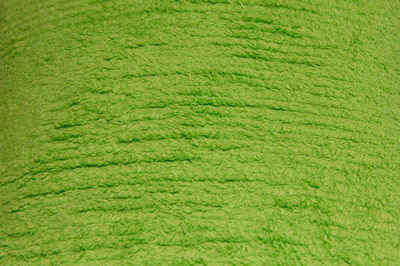 Lime Green Terry Chenille Fabric