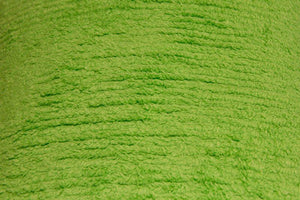 Lime Green Terry Chenille - WHOLESALE FABRIC - 10 Yard Bolt