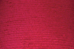 Red Terry Chenille Fabric