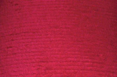 Red Terry Chenille - WHOLESALE FABRIC - 10 Yard Bolt