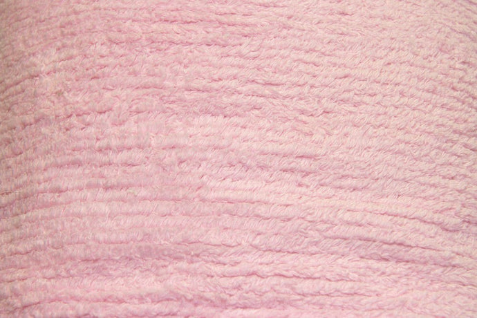 Pink Terry Chenille - WHOLESALE FABRIC - 10 Yard Bolt