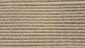 "1/2"" Beige & Ivory Decorative Cording - 5 Yards"