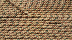 "1/2"" Beige, Mauve & Green Decorative Cording"