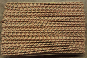"1/4"" Beige, Sage & Blush Decorative Cording - 5 Yards"