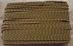 "1/4"" Olive, Tan & Rust Decorative Cording - 5 Yards"
