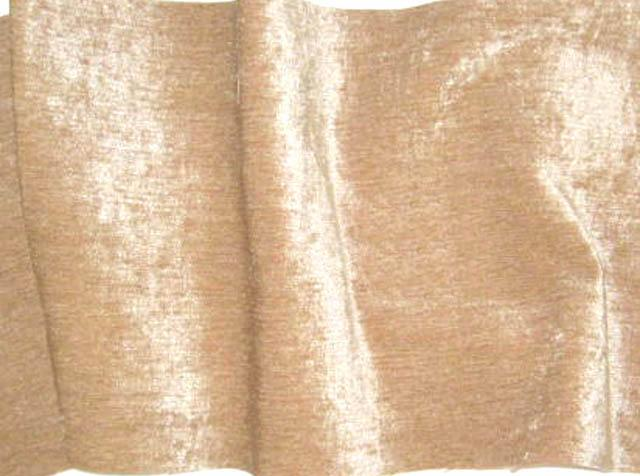 Discount Fabric CHENILLE Camel Upholstery