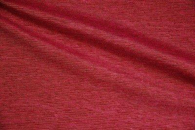 Discount Fabric CHENILLE Cherry Red Upholstery
