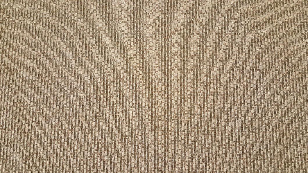 Discount Fabric VELVET Taupe & Creme Upholstery