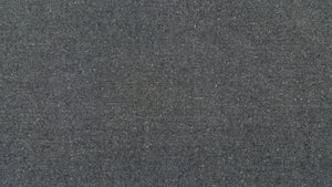 "60"" Navy Tweed Wool Blend Fabric"