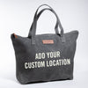 Harvey traveler custom tote bag