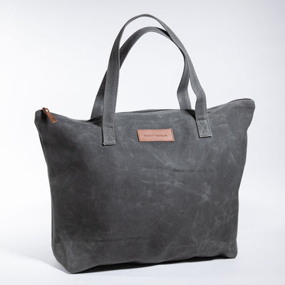 Harvey traveler classic wax canvas tote bag