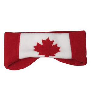 CANADA HEADBAND RED Made in Canada