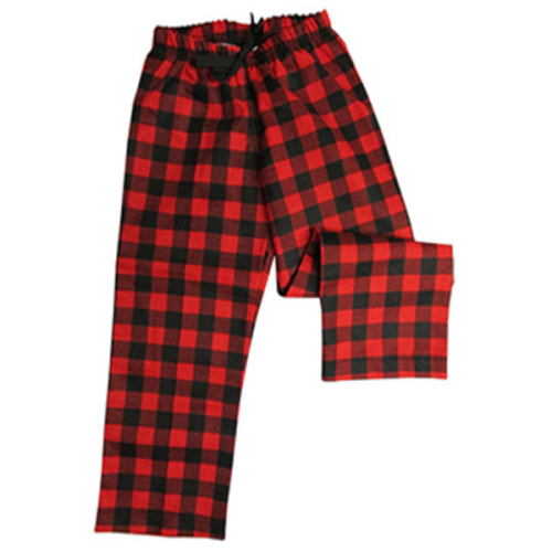YOUTH SLEEP PANTS - BUFFALO CHECK RED Made in Canada