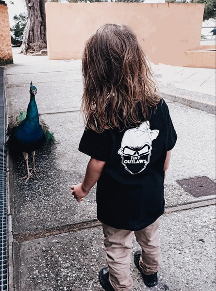 TINY OUTLAWS LOGO -  KIDS TEES