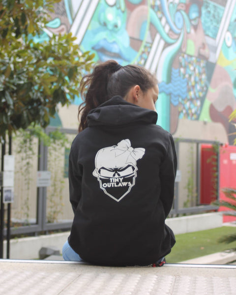 TINY OUTLAWS LOGO - KIDS HOODY