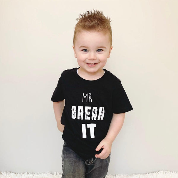 MR BREAK IT - KIDS TEES