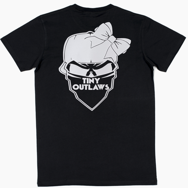 TINY OUTLAWS LOGO - MENS TEE