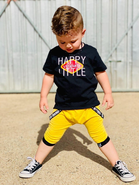 HAPPY LITTLE VEGEMITE - KIDS TEES