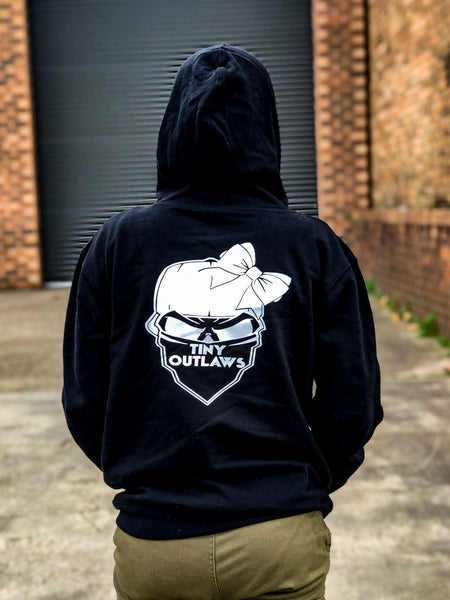 TINY OUTLAWS LOGO - ADULTS HOODY