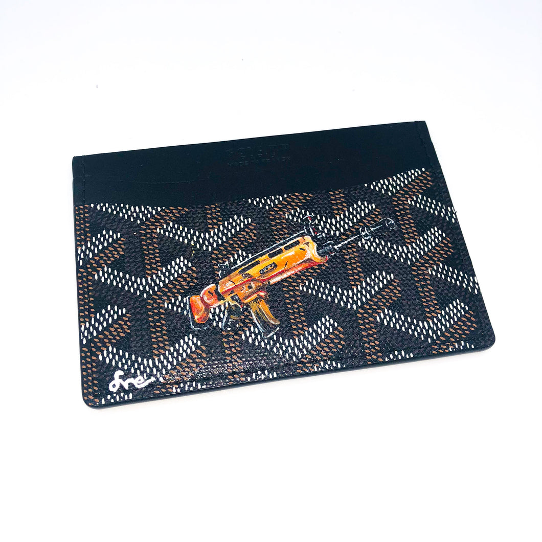 Gold Scar Custom Card Holder