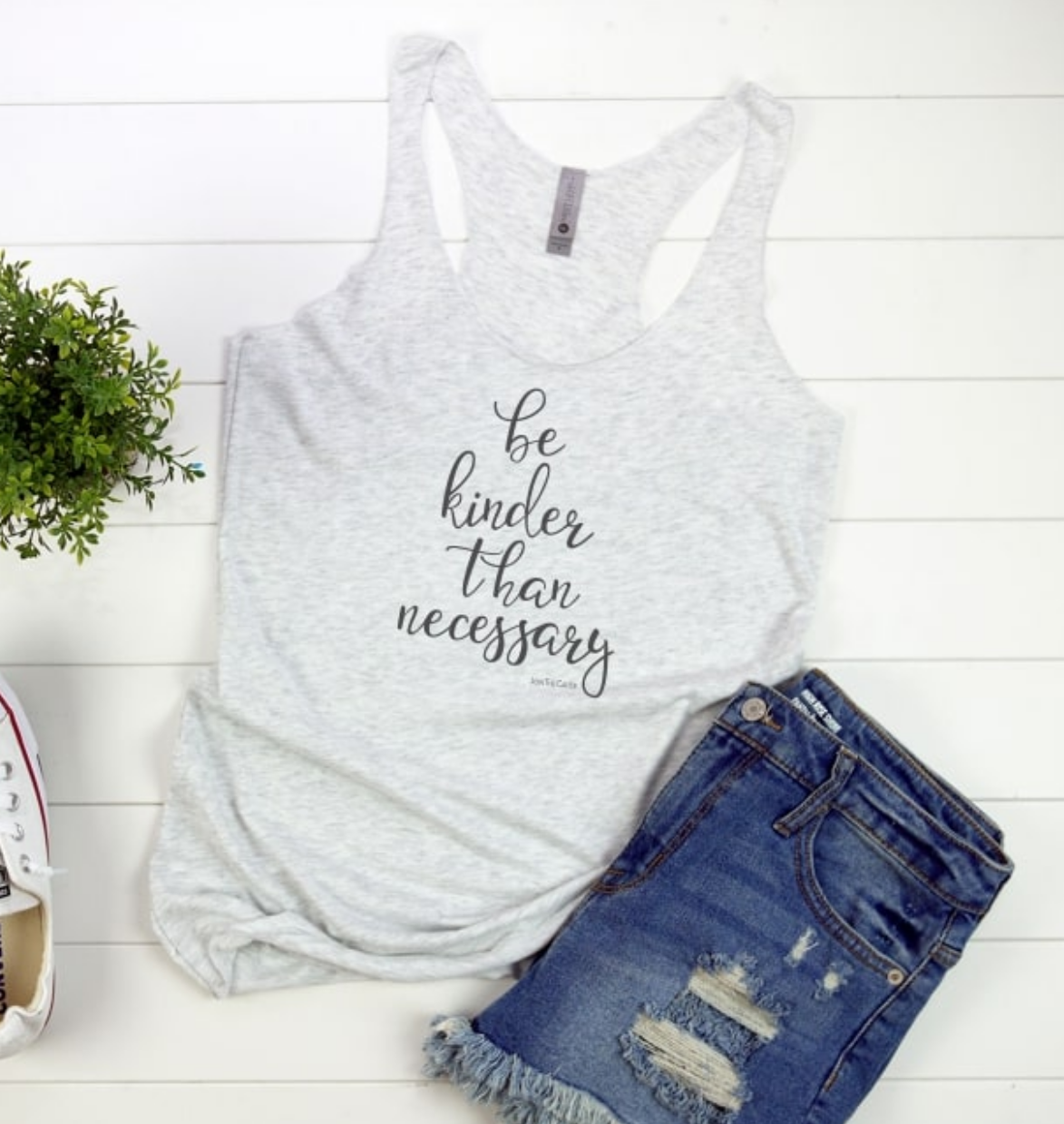 Be Kinder Than Necessary - Women's Racerback Tank