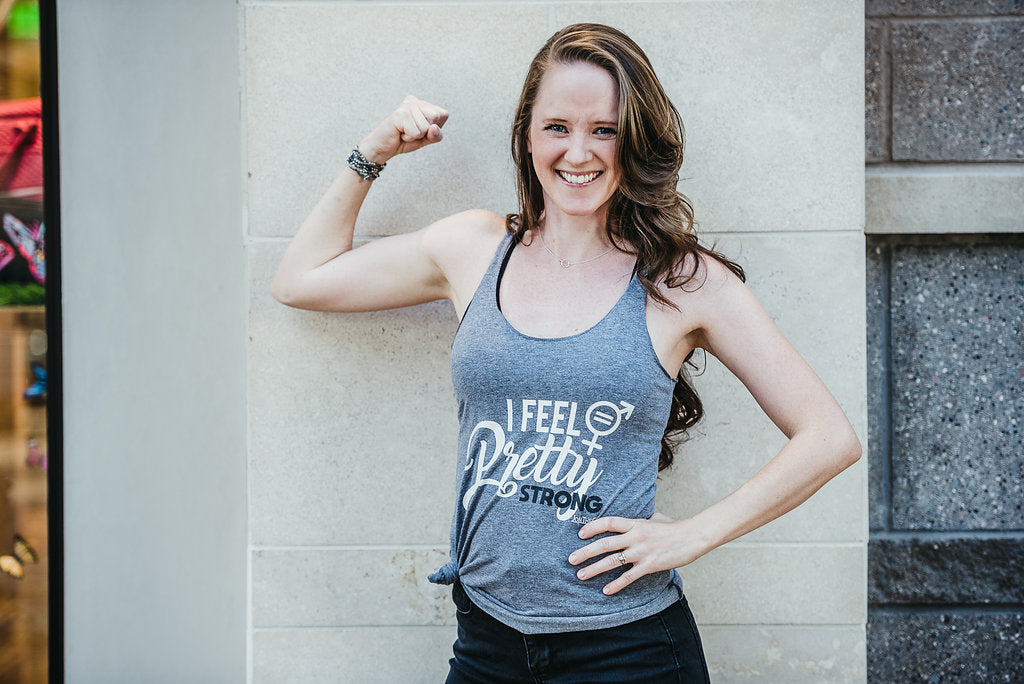 I Feel Pretty Strong - Women's Racerback Tank